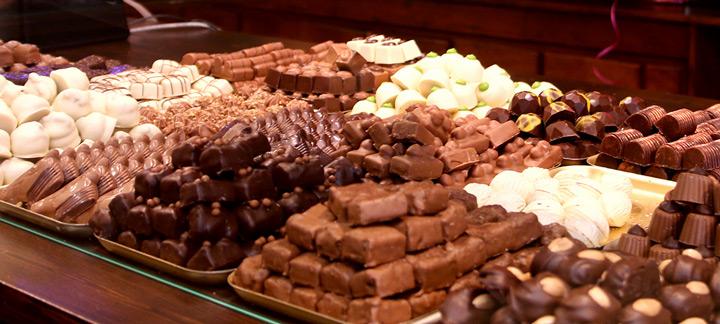 Heerlijke bonbons en handgemaakte chocolade