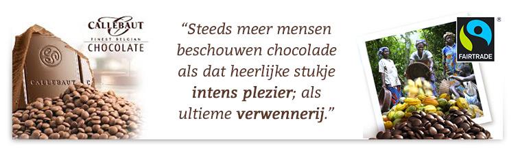 Callebaut Fairtrade Chocolade van hoge kwaliteit