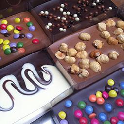 Chocolade cadeaus - feestelijke repen en heerlijke bonbons