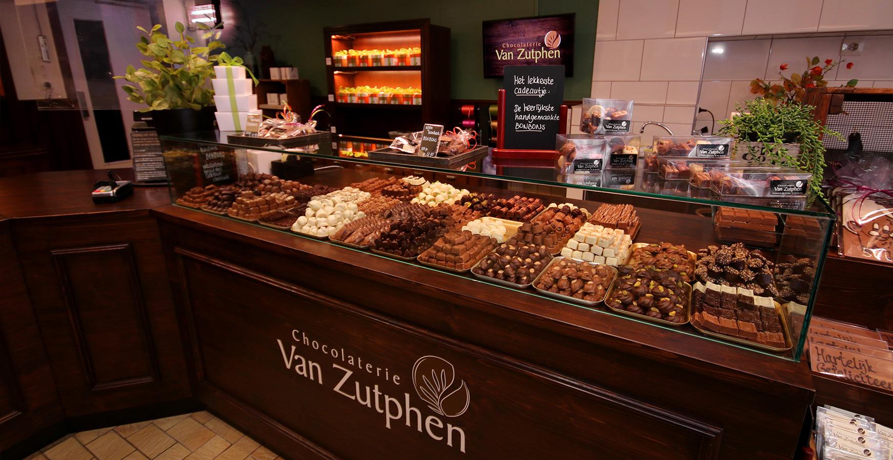 Chocolaterie Van Zutphen in Losser - Heerlijke bonbons en cadeaus van chocolade